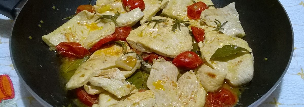 Petti di pollo alla pizzaiola