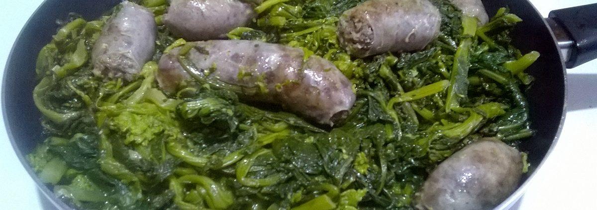 Salsicce e broccoletti