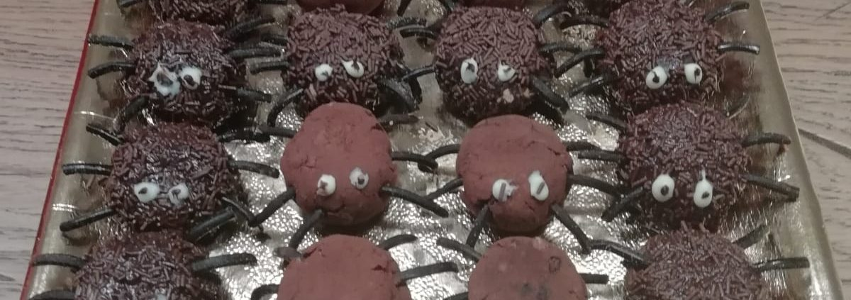 Biscotti ragnetti di Halloween