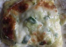 Lasagna bianca alle zucchine