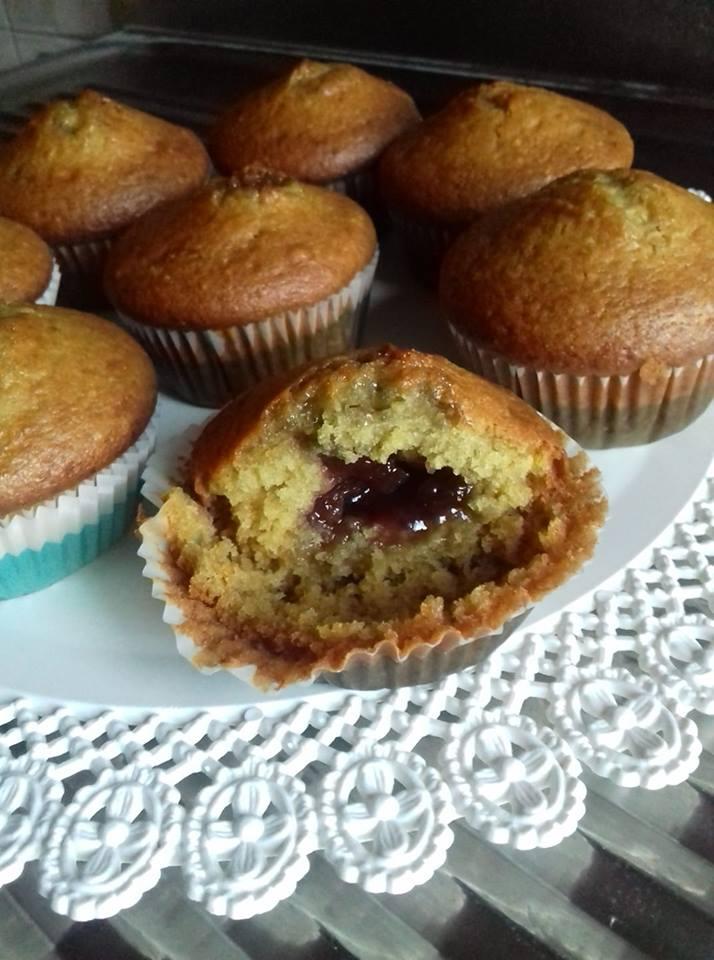 muffin soffici all'arancia