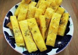 Bastoncini croccanti di polenta
