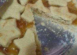 Crostata alla marmellata di albicocche senza glutine