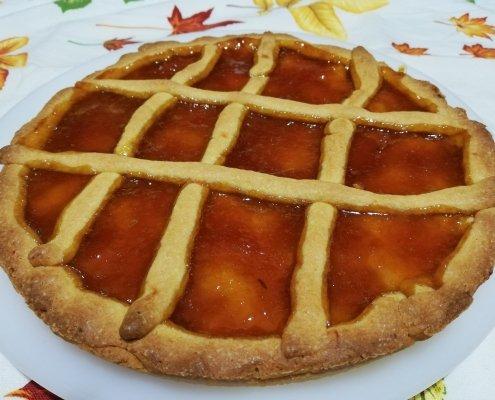 Crostata alla marmellata di arance