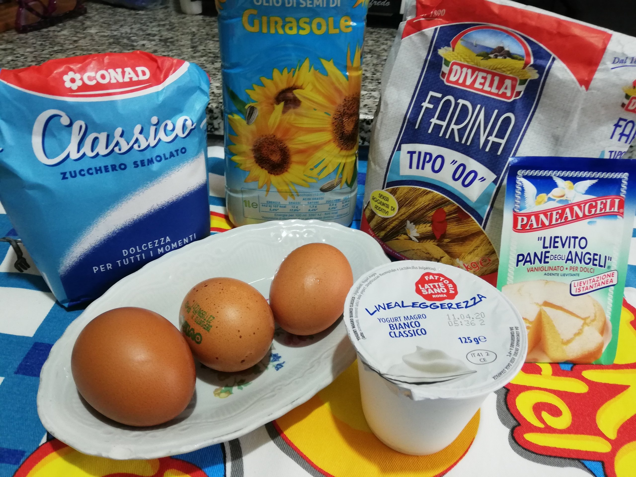 Ciambellone allo yogurt