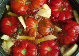Pomodori col riso al tegame (di Marina)